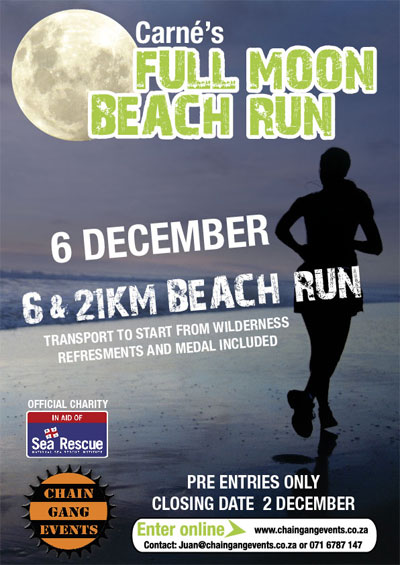 Carné's Full Moon Beach Run