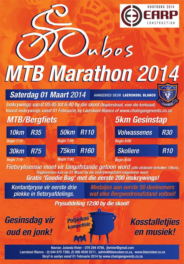 Oubos MTB Marathon 2014