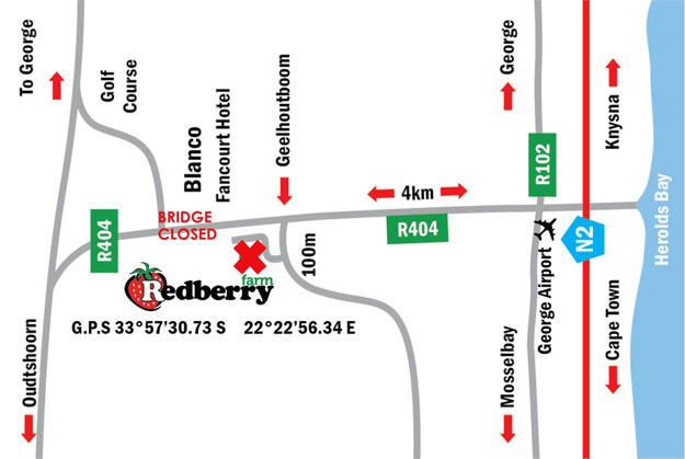 Strawberry Festival Map