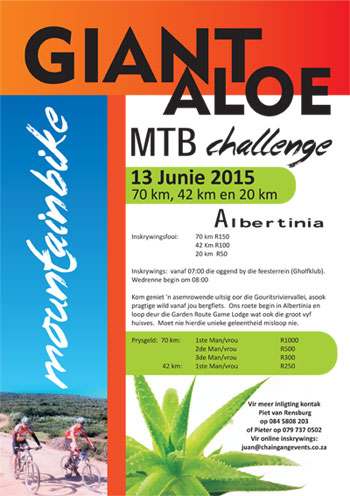 Giant Aloe MTB & Trail Run Challenge