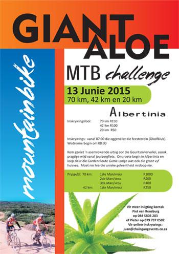 Giant Aloe MTB & Trail Run Challenge