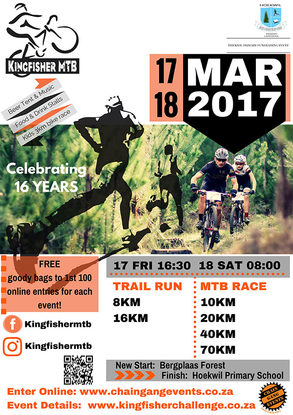 Kingfisher MTB & Trailrun 2017 Challenge