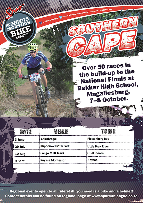 SPUR Eden Schools MTB League Series 2017