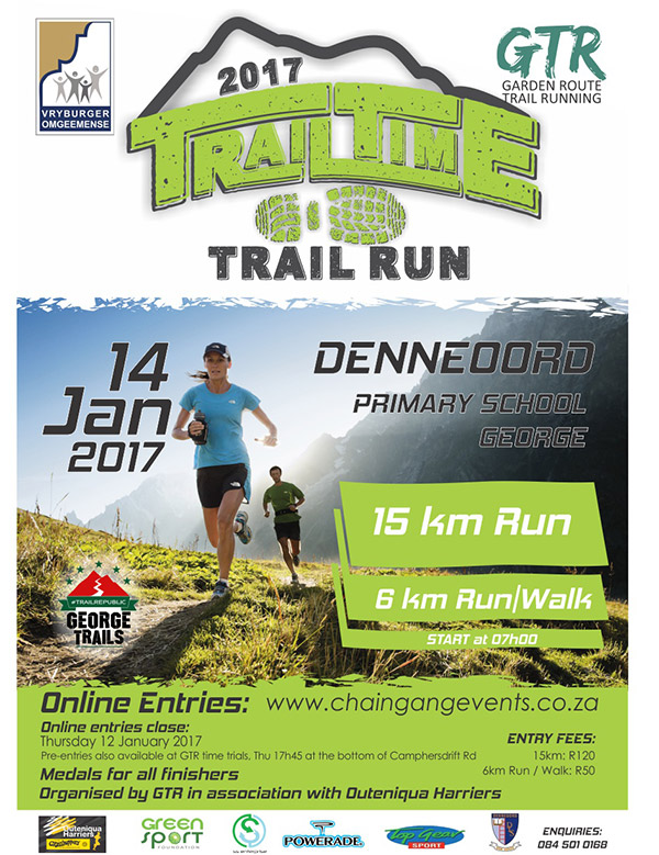 Trail Time 6km and 15km trail run