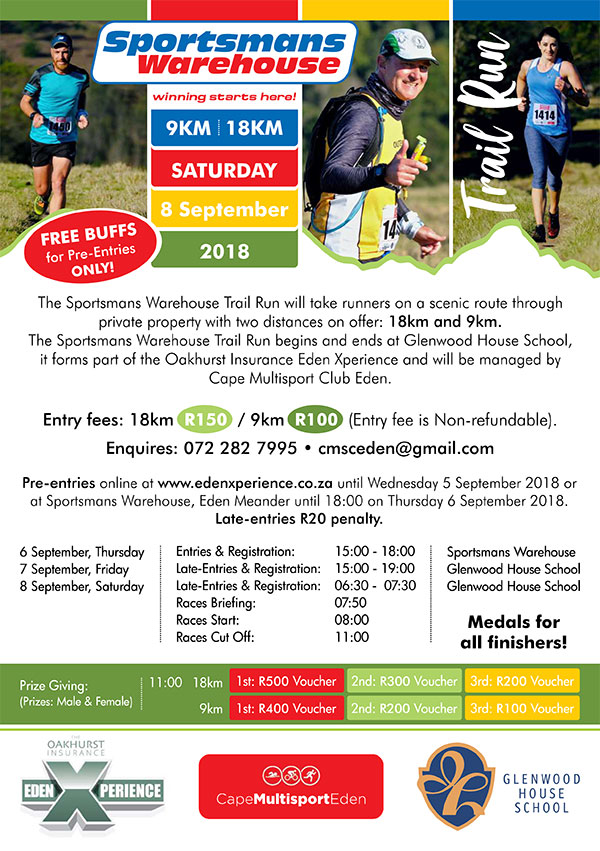 The Sportsman Warehouse Trail Run 2018