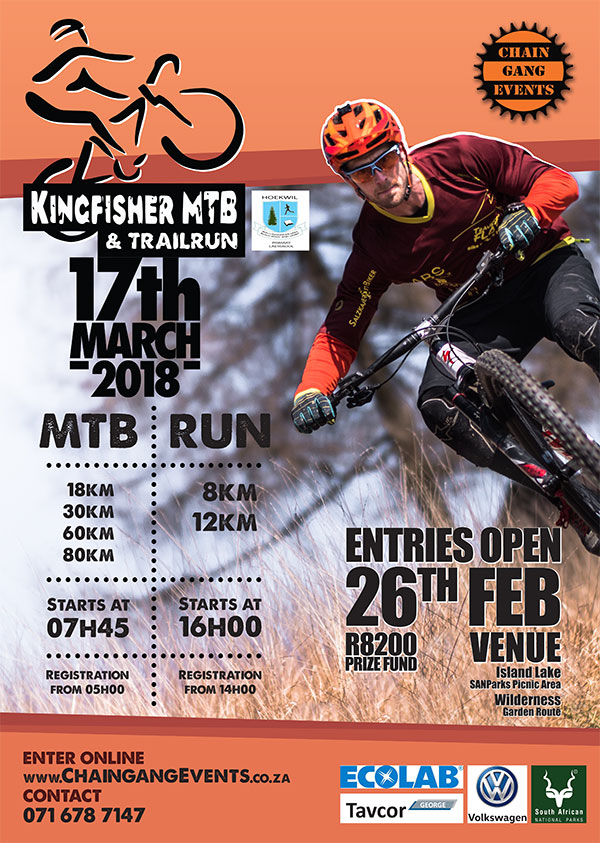 Kingfisher MTB & Trailrun 2018 Challenge