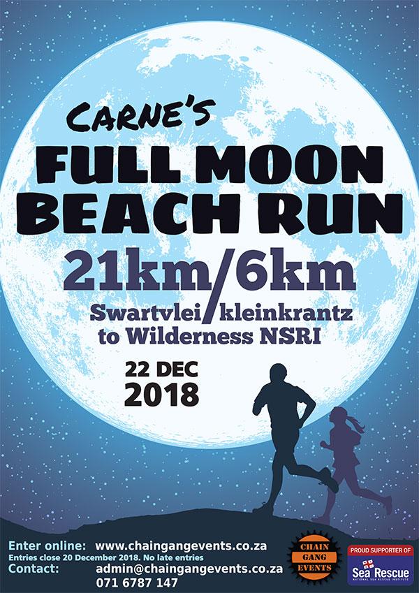 Carne's Full Moon Beach Run