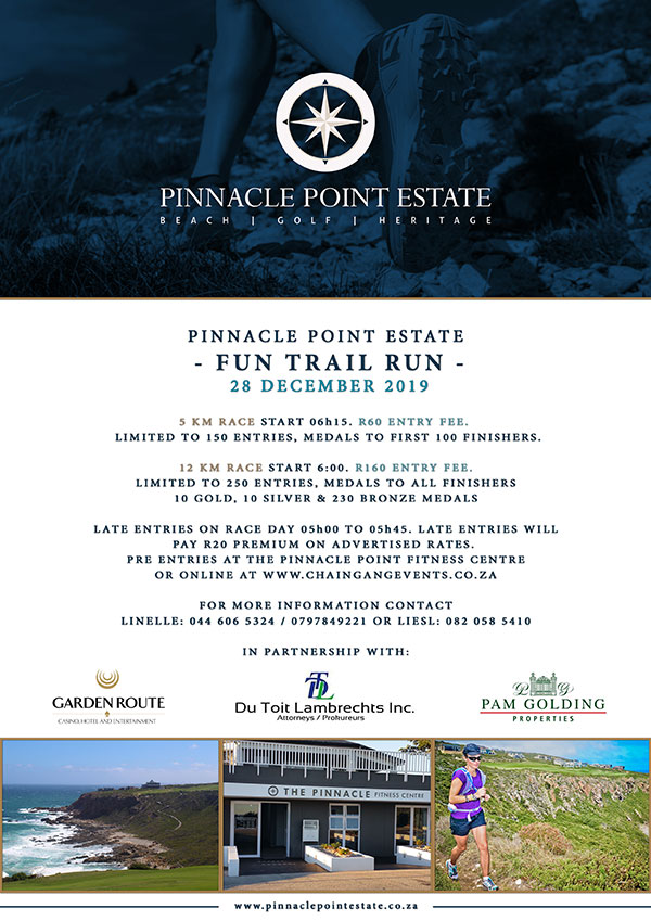 Pinnacle Point Trailrun 2019