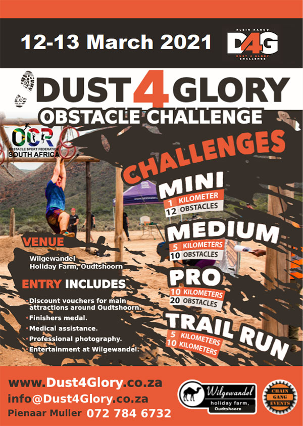 2021 Dust4Glory Obstacle Challenge