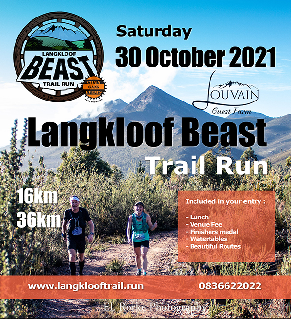 2021 Langkloof Beast Trail Run