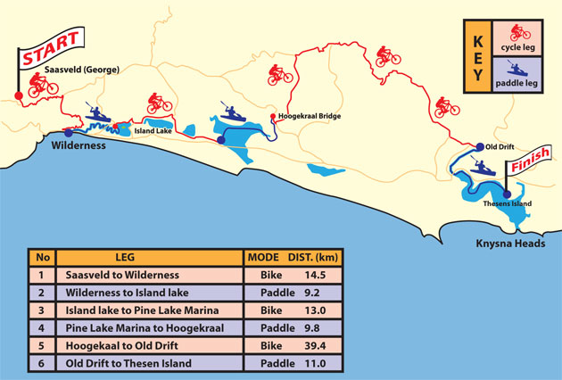 X Lakes Map