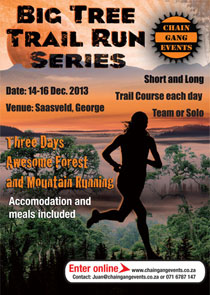 Big Tree Trail Run Series 2013