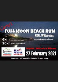 2020/21 Carne's Full Moon Beach Run