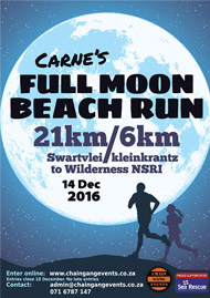 Carne's Full Moon Beach Run 2016