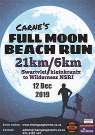 2019 Carné's Full Moon Beach Run