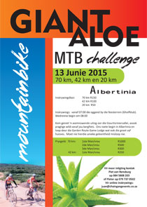 Giant Aloe MTB and Trail Run Challenge