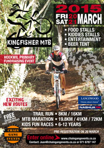 Kingfisher Trail Run 2015