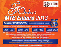 Oubos MTB Marathon 2013