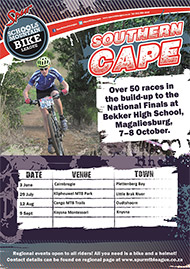 SPUR Eden MTB Schools League Series 2017