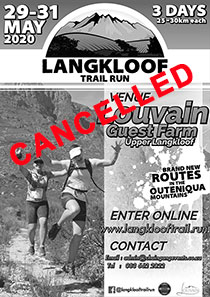 2020 Langkloof 3 Day Trail Run
