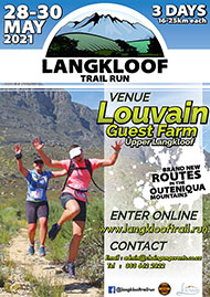 2021 Langkloof 3 Day Trail Run