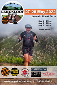 2022 Langkloof 3 Day Trail Run
